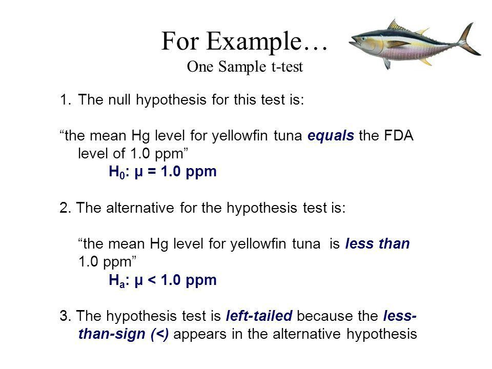 Hypothesis Testing MARE 250 Dr. Jason Turner. - ppt download