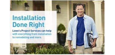 Lowe's Installation Services for your Home
