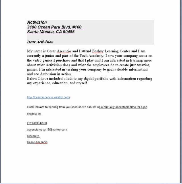 National Junior Honor Society Recommendation Letter Sample - Best ...