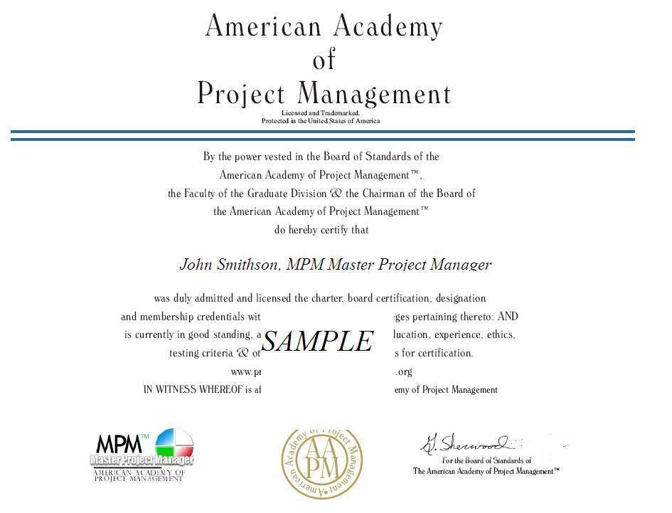 Project Management Association Membership Benefits AAPM American ...