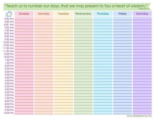 Best 25+ Weekly schedule ideas only on Pinterest | School schedule ...