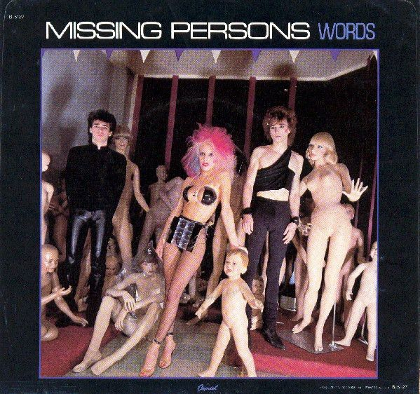 Missing Persons - Words at Discogs