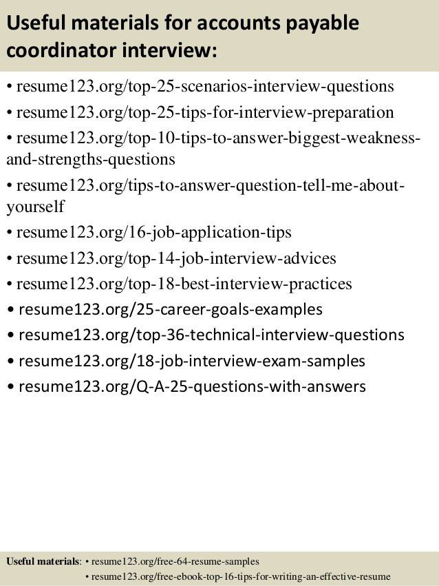 accounts payable resume samples unforgettable accounts payable