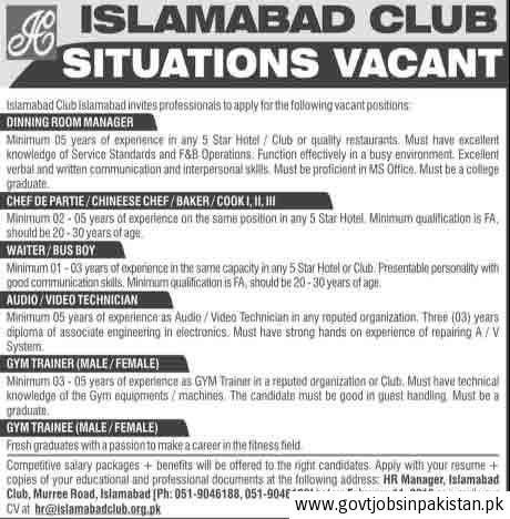 club manager job club manager job opportunity fish and game club ...