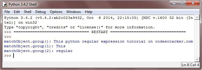 Python Regular Expression