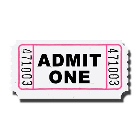 Ticket clip art template free clipart images – Gclipart.com