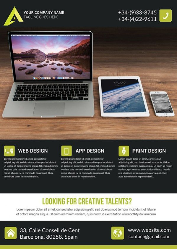 Creative Business Flyer Templates | TDS