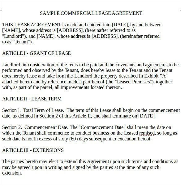 Sample Residential Rental Agreement -12+ Examples & Format