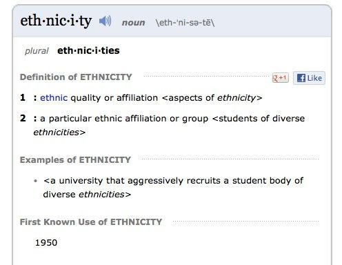 We Need To Educate Ourselves On Race vs. Ethnicity (And Other ...