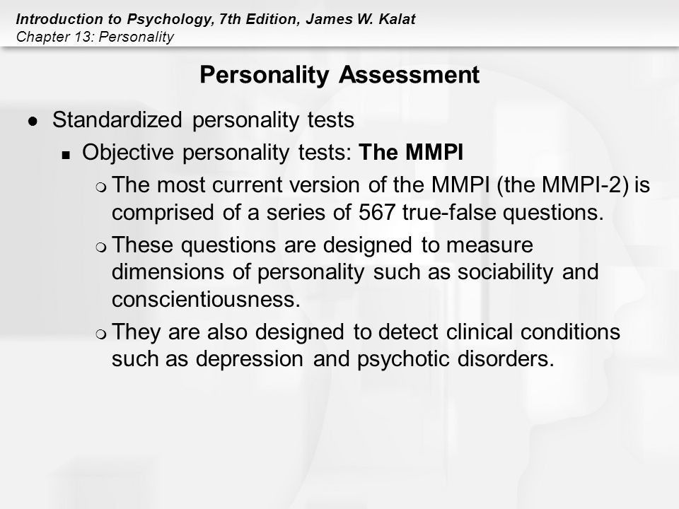 Chapter 13 Personality. - ppt download