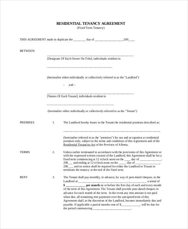 Legal Forms Lease Contract | Professional resumes sample online