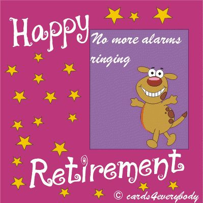 Congratulations on Your Retirement, Le Sheriff!!