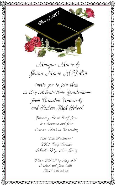 Graduate Invites: Amazing Graduation Invitations Wording Ideas ...