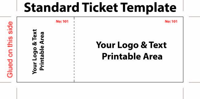 Ticket Templates: 26 Cool Concert Ticket Template Examples for ...