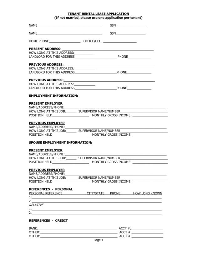 Free Printable Landlord Tenant Rental Lease Agreement Template ...