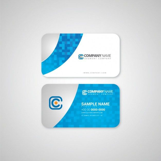 Business card template design Vector | Free Download