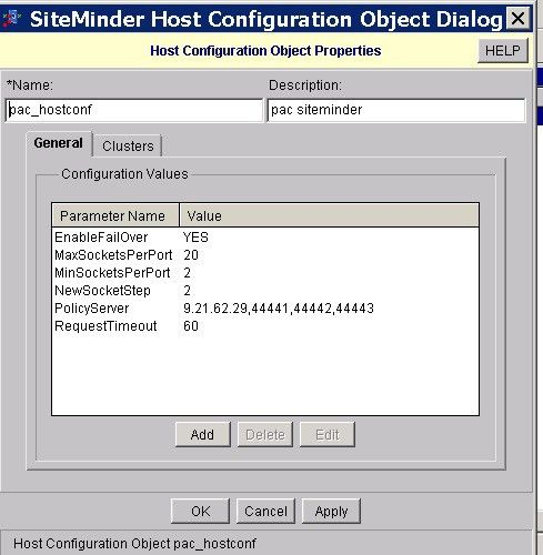 Integration with CA SiteMinder