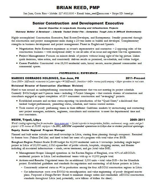 sample management consultant resume pmp resume sample pmp ...