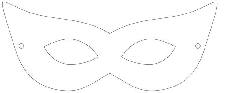 Printable Masquerade Mask Template | Stuff I Want To Make .