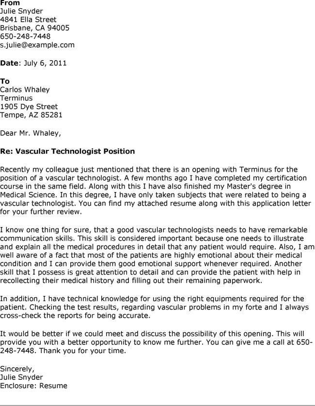 Computer Lab Technician Cover Letter