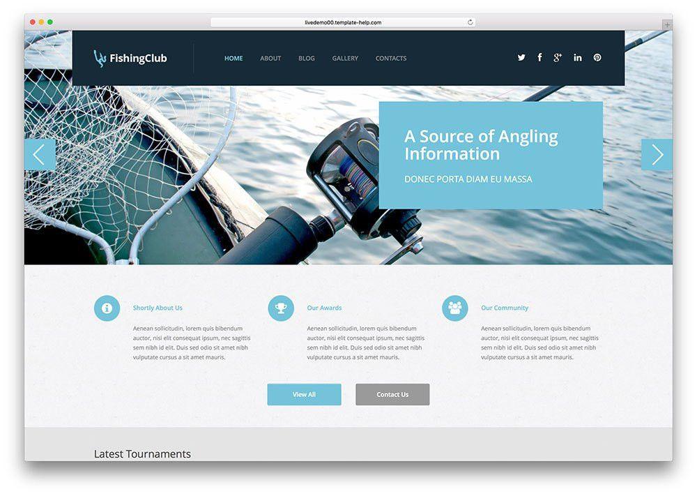 Top 10 Professional WordPress Fishing Themes 2015 - Colorlib