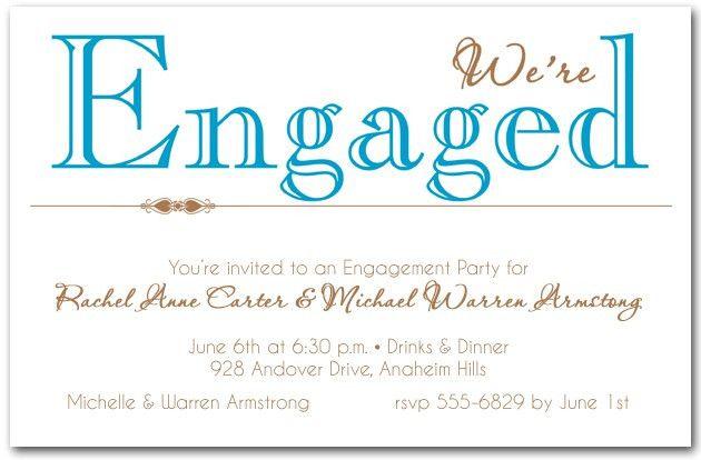 Engagement Party Invites - marialonghi.Com