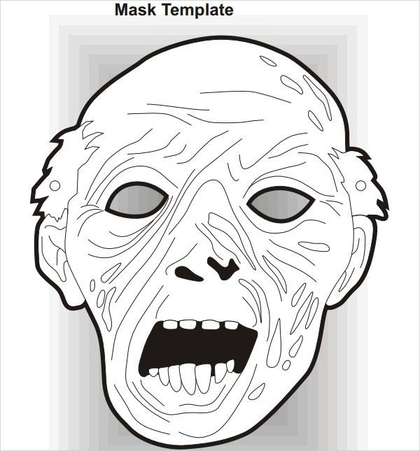 19+ Scary Masks - Free Vector AI, EPS, PDF Format Download   Free ...