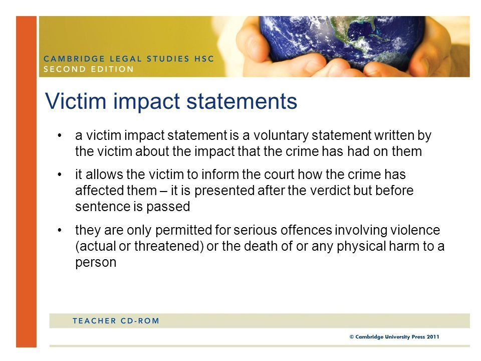 Chapter 4 Sentencing and punishment. In this chapter, you will ...