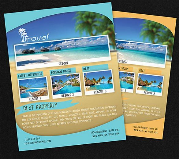 Travel Flyer Template - 43+ Free PSD, AI, Vector EPS Format ...