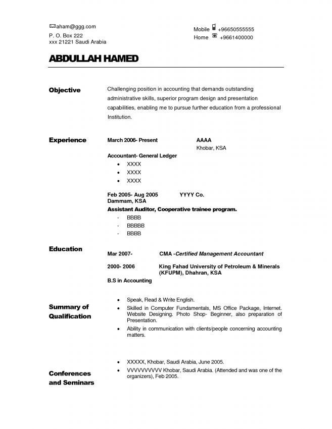 11 Internal Auditor Resume Objective Resume senior internal ...