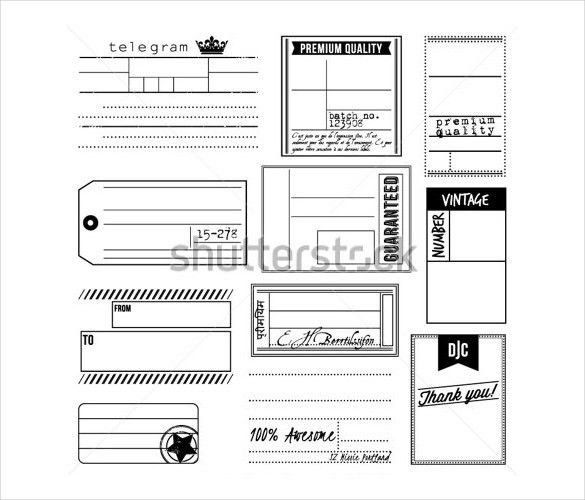 21+ Mailing Label Templates - Free Sample, Example Format Download ...