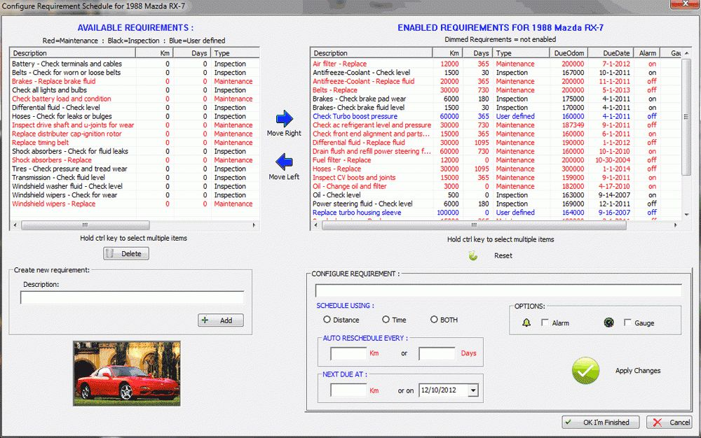 The Original Car Care Software. FREE Download. Car Maintenance ...
