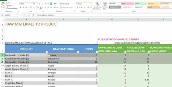 Stock Inventory Control Template. Daily Stock Control Report ...