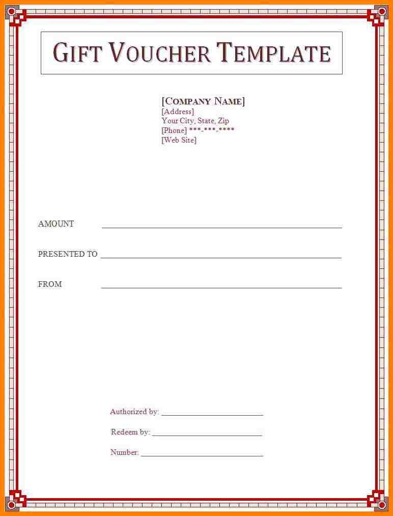 8+ gift voucher template word free download   farmer resume
