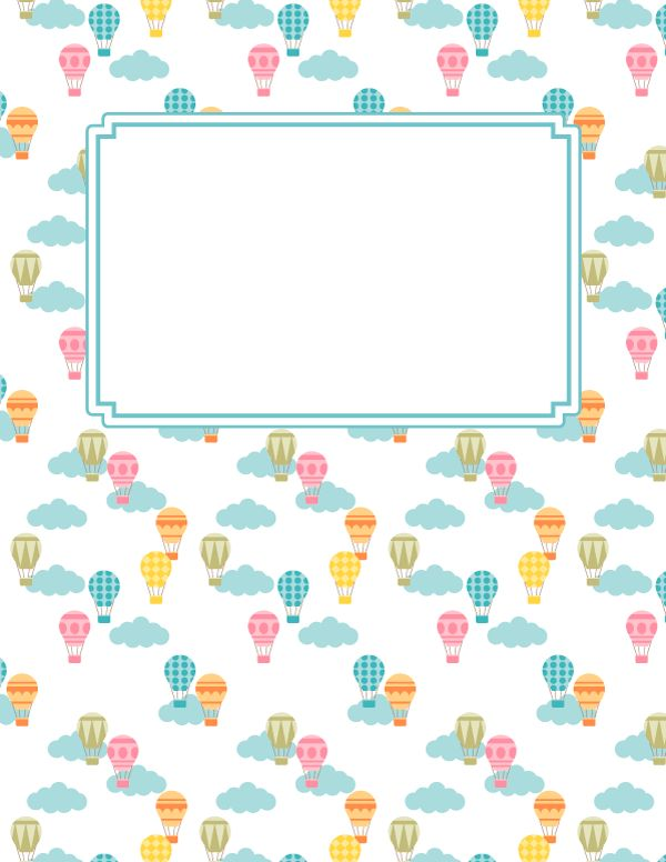 Free printable cat binder cover template. Download the cover in ...