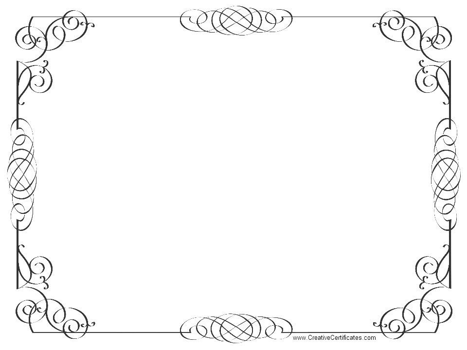 9 Best Images of Clip Art Certificate Borders Templates - Free ...