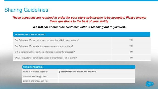 Customer Stories Template for Consulting Partners