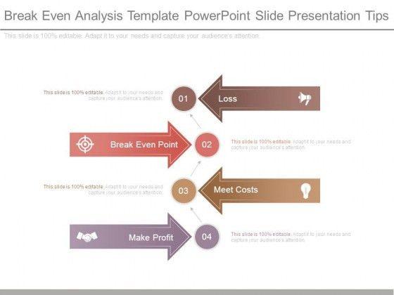 Break Even Analysis Template Powerpoint Slide Presentation Tips ...