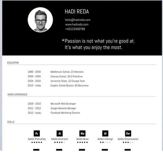 Free Templates For Resume. Free-Resume-Templates-13 40 Best Free ...