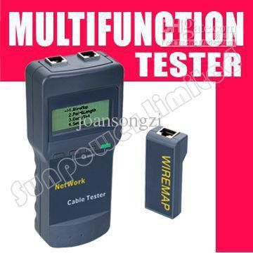 by UPS/DHL/EMS, CAT5 RJ45 Network Cable Tester Meter Length SC8108 ...