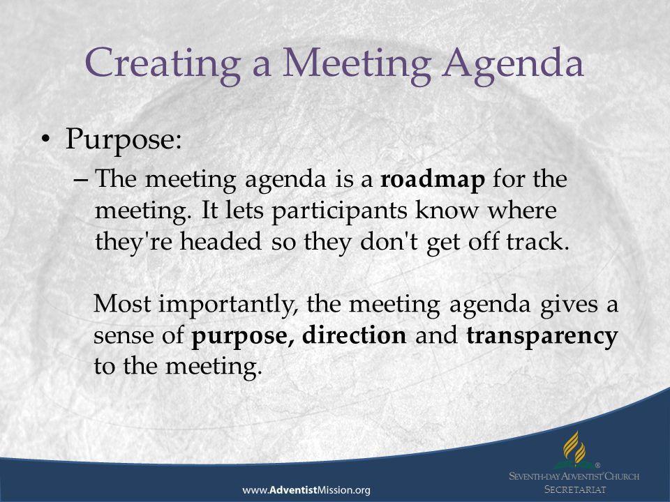 S ECRETARIAT Division Secretariat Advisory Preparing Meeting ...