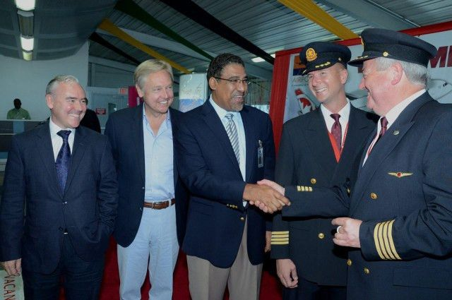 Jamaica Welcomes 130 Passengers on New Flight from Canada ...