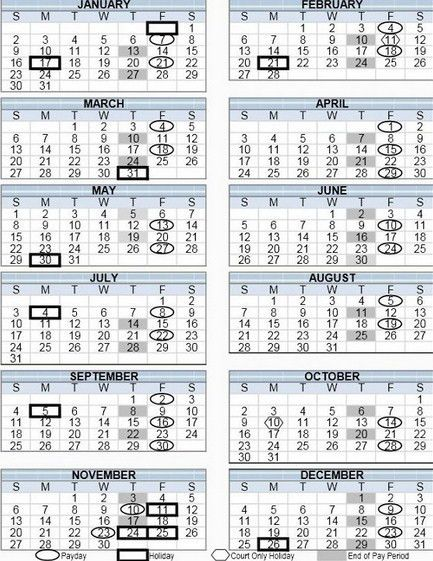 Payroll Calendar Template 2016 | Calendar Picture Templates