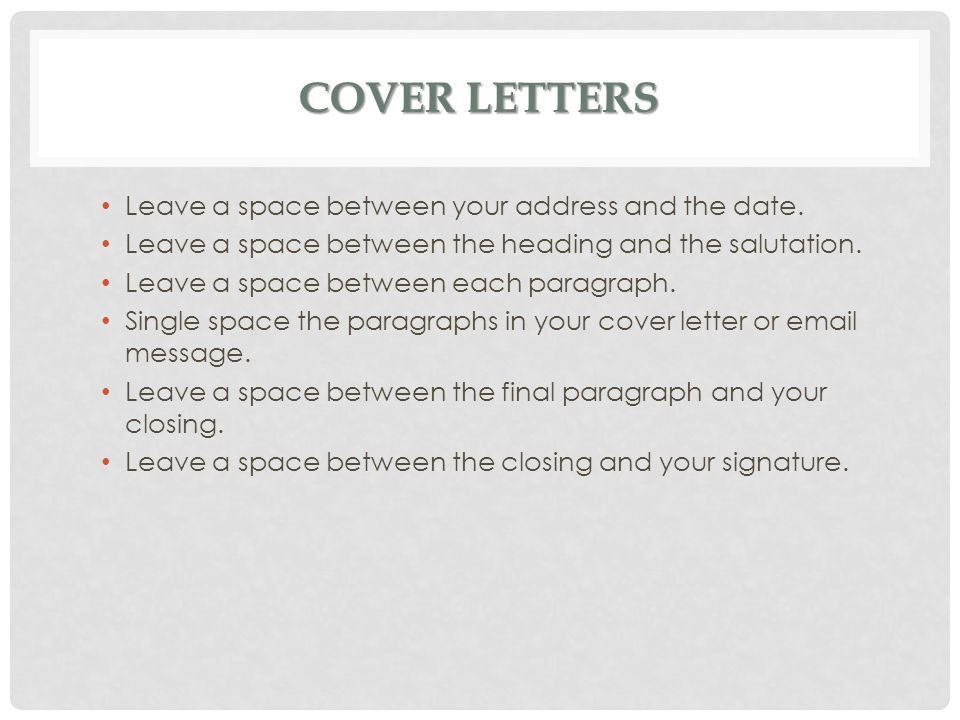 Cover Letter Salutation. Resume Cover Letter Salutation Greeting ...