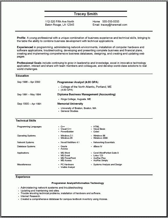 Babysitting Resume Template. Download Babysitting Resume ...