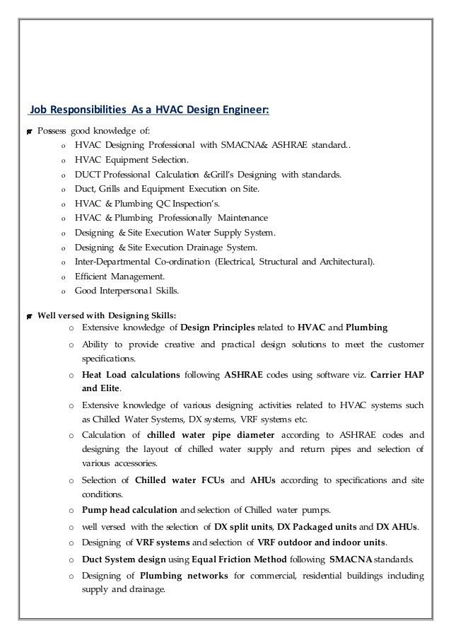 Plumbing Engineer Sample Resume Professional Plumbing Engineer - datapower resume