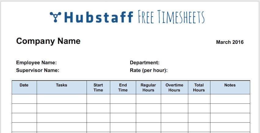 The Only Timesheet Template Your Business Needs (Free Download)