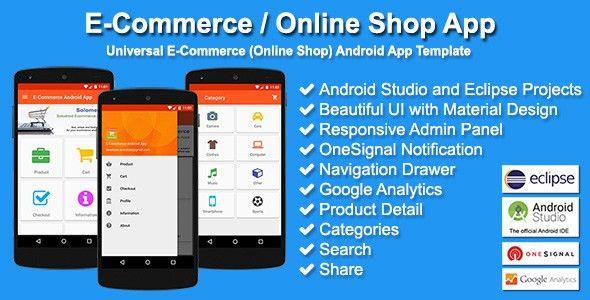 E-Commerce / Online Shop App by solodroid | CodeCanyon