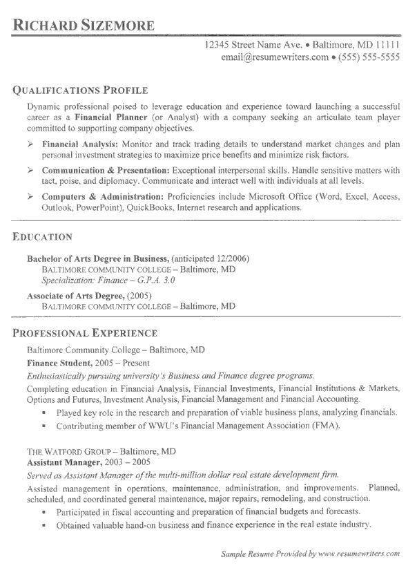 61 best Dame's Resume Planner images on Pinterest | Resume tips ...