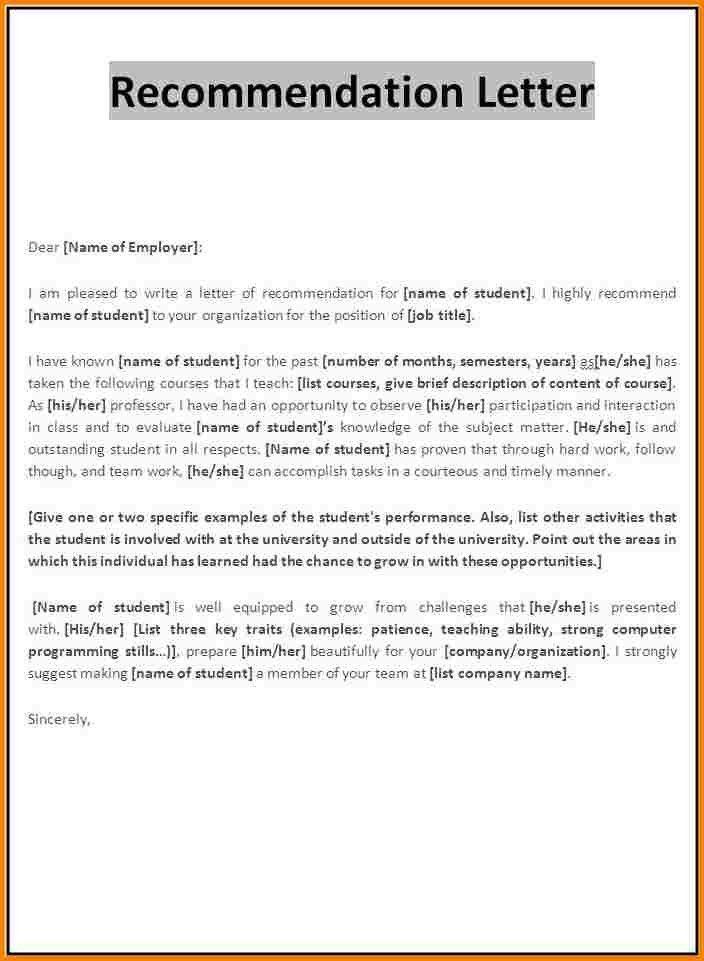 Recommendation Letter For Master Degree Scholarship | Cover Letter ...